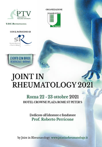 Locandina Joint in Rheumatology 2018